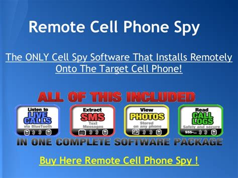 remote cell phone