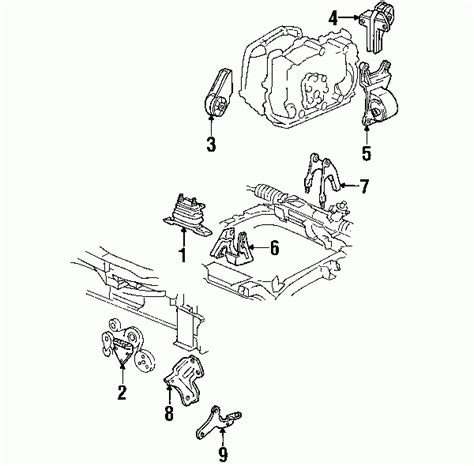 Pontiac Grand Engine Diagram Automotive Parts