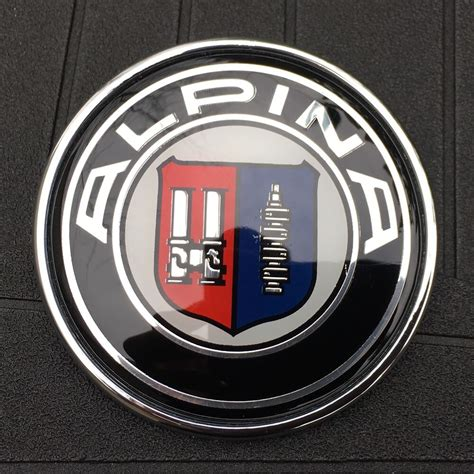 Bmw Ornament by Bmw Alpina Logo 82mm 3 1 4 In Ornament Emblem Badge