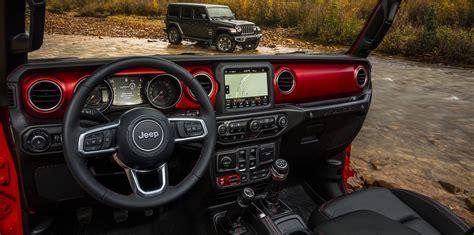 interior jeep wrangler 2018 jeep wrangler interior revealed photos 1 of 3