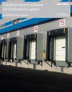 Besam Porte Automatique : distribution et logistique solutions applications ~ Premium-room.com Idées de Décoration