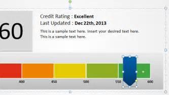 Excel Report Card Template Free Creative Meter Template For Powerpoint Free Powerpoint Templates Slidehunter Com
