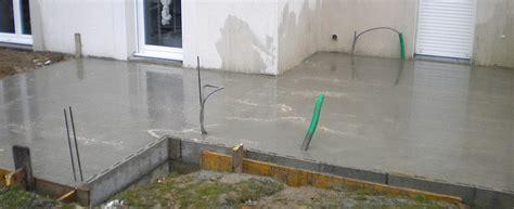 dalle de beton pour terrasse wikilia fr