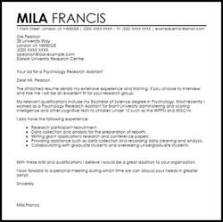 Application Letter Research Assistant] research assistant ...