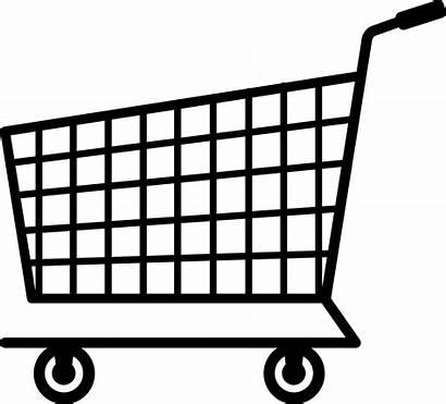 Shopping Cart Clip Silhouette Sweetclipart
