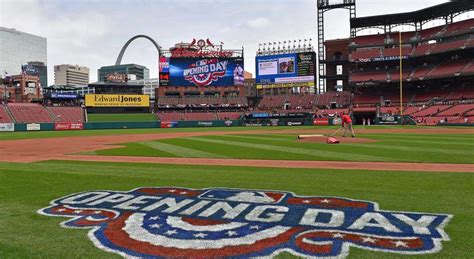 Scheduled Of Events For St. Louis Cardinals Opening Day At