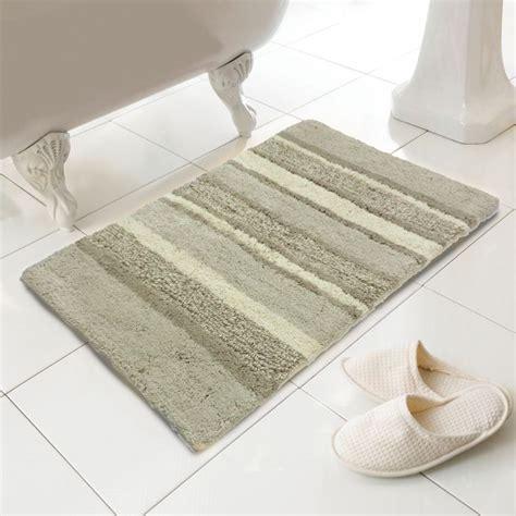 luxury bath rugs 100 cotton bath mat rug silver grey tonys textiles