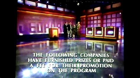jeopardy season  credits  adam taxin youtube