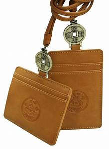 Leather, Id, Card, Holder