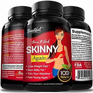 Diet Pills  Skinny Again  100  Natural  Non