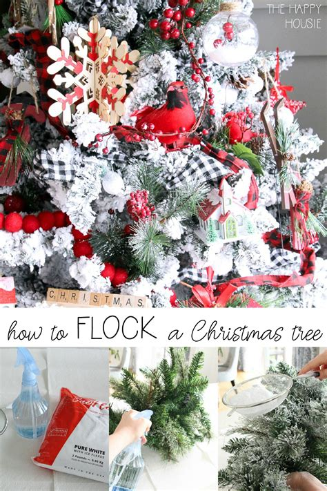flock  christmas tree hometalk funky junk