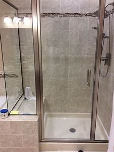 45 best small bathroom 60x30 shower images on pinterest for How big is a bathroom stall