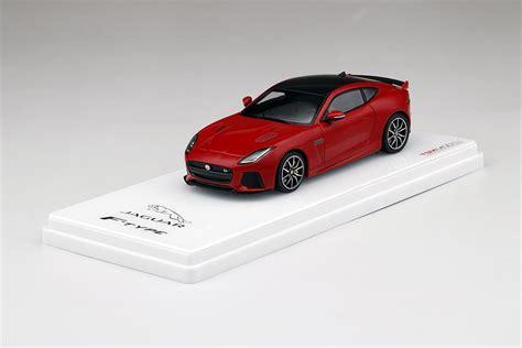 Jaguar F-type Svr Awd Caldera Red Model Car In 1