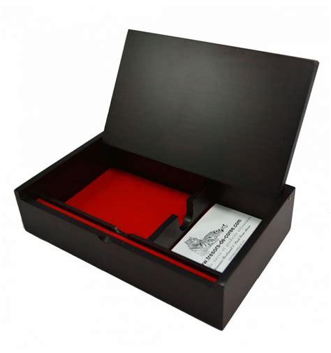 rangement stylo bureau boite de rangement en bois pour le bureau muti usage