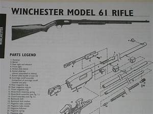 Winchester Model 61 Rifle Exploded View