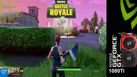 fortnite battle royale epic settings  gtx ti