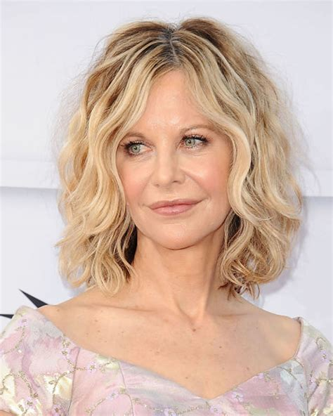 trendy wavy curly haircuts for older short medium and length hair page 4