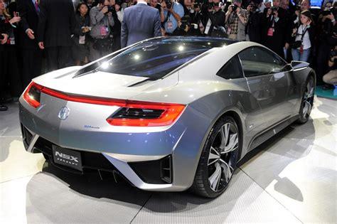 2015 acura nsx concept smart luxury supercar
