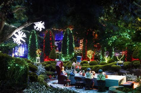valley gardens lights spectacular from