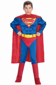 Superman Deluxe Muscle Chest Superman Boys Toddler Child