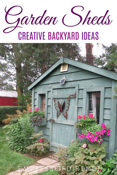 magnificent garden shed ideas   whimsical designs