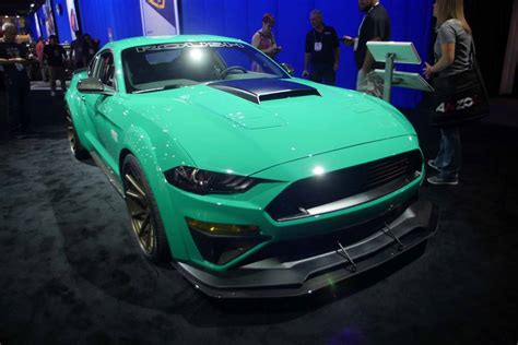 Gallery: Modified Ford Mustangs Charge into SEMA 2017 ...