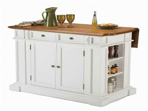 small kitchen islands on wheels home depot narrow