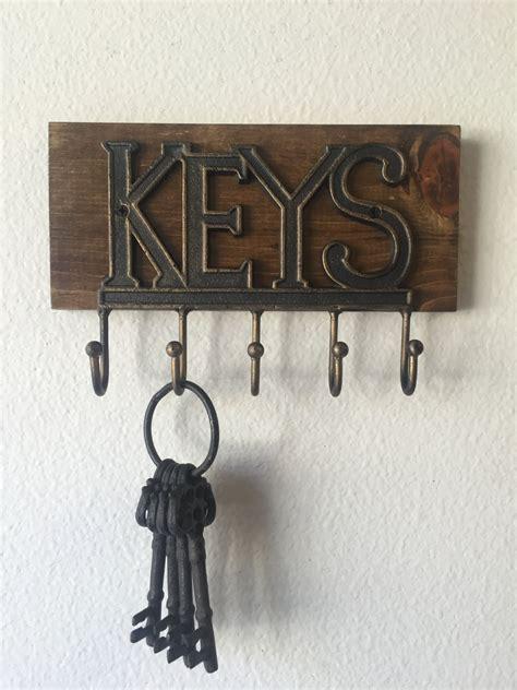 Decorative Key Organizer Wall by Wall Key Holder Rustic Key Holder Key Holder Wall Key Rack