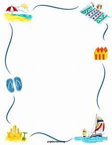 Best Summer Border Clip Art #8063 - Clipartion.com