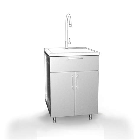 Outdoor Sink Cabinet Stainless Steel - stainless steel cabinets outdoor cabinetry stainless