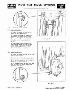 Clark Forklift Brake Diagram Pictures To Pin On Pinterest