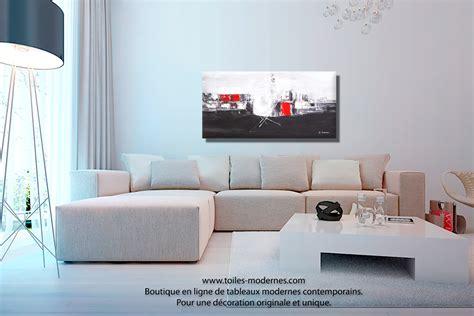 couleur de mur pour une chambre tableau panoramique noir blanc design grand format
