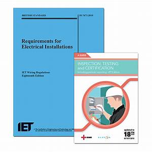 18th Edition Wiring Regulations   Niceic Inspection