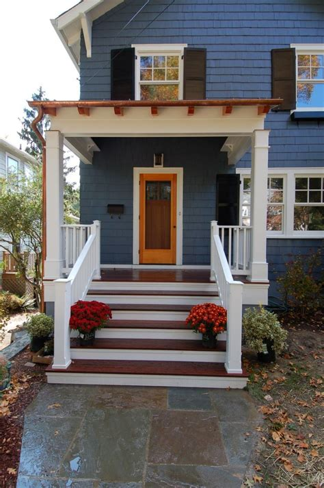 Wooden Porch Ideas by Best 25 Small Front Porches Ideas On Porch