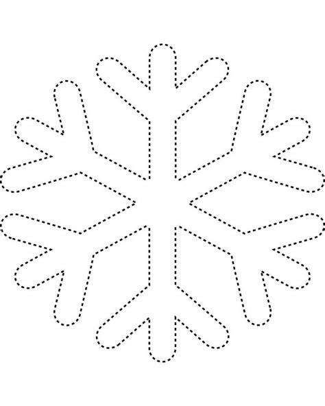 free snowflake template snowflake templates snowflake 2
