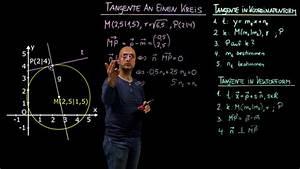Tangente Berechnen : gegenseitige lage kreis gerade und kreis kreis mathematik online lernen ~ Themetempest.com Abrechnung