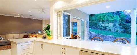 kitchen service window design bi fold windows 5593