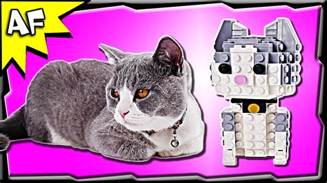 Custom Lego Kitty Cat Moc Stop Motion Build Review