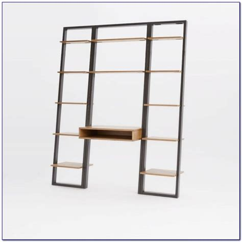 Narrow Ladder Bookcase by Narrow Leaning Shelf Bookcase Home Design Ideas