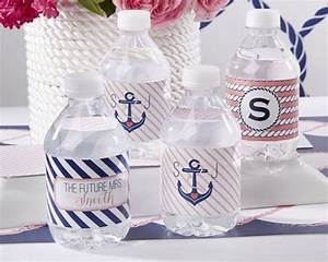 24 chic nautical themed bridal shower ideas weddingomania With nautical wedding favors ideas