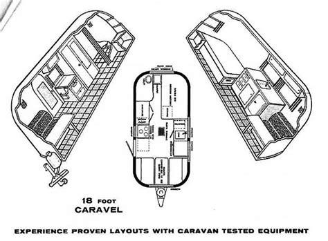 vintage airstream  caravel  foot travel trailer