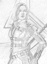 Avengers Coloring Pages Gamora Nebula Thanos Daughter Mantis Filminspector Adopted Downloadable Played Karen sketch template