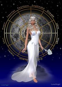"""""""Arianrhod moon goddess"""" by LoneAngel Redbubble"""