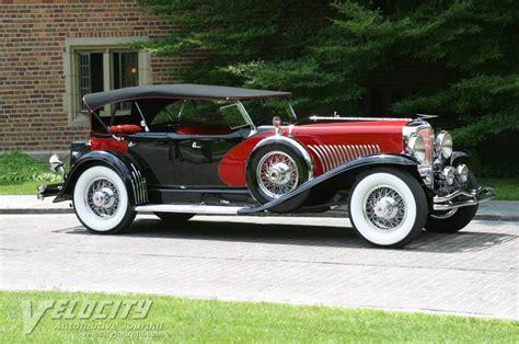 Duesenberg Model J by 1929 Duesenberg Model J Dual Cowl Phaeton Information