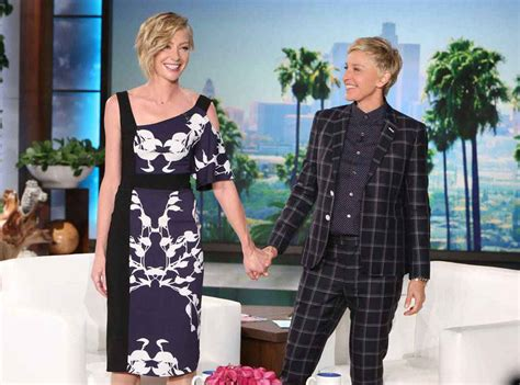 And Portia by Degeneres And Portia De Fight Ended By