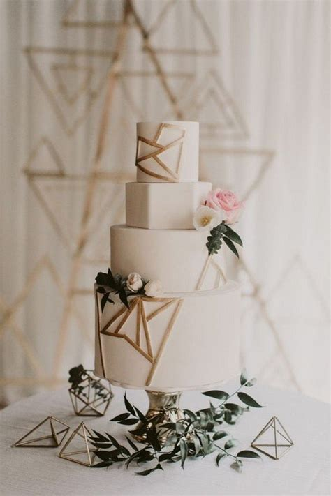 chic geometric wedding ideas   trends