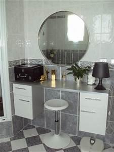 Coiffeuse Salle De Bain : salle de bain photo 4 4 ma coiffeuse ~ Teatrodelosmanantiales.com Idées de Décoration