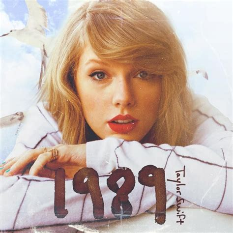 """Taylor Swift '2014 – """"1989"""" (album cover) 