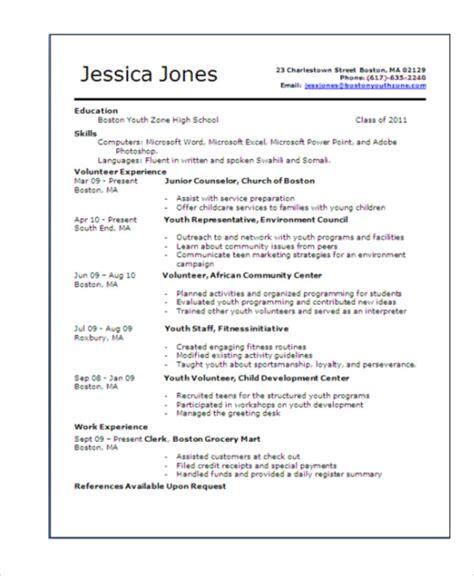 15 resume templates pdf doc free premium