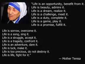 Mother Teresa Quotes About Life